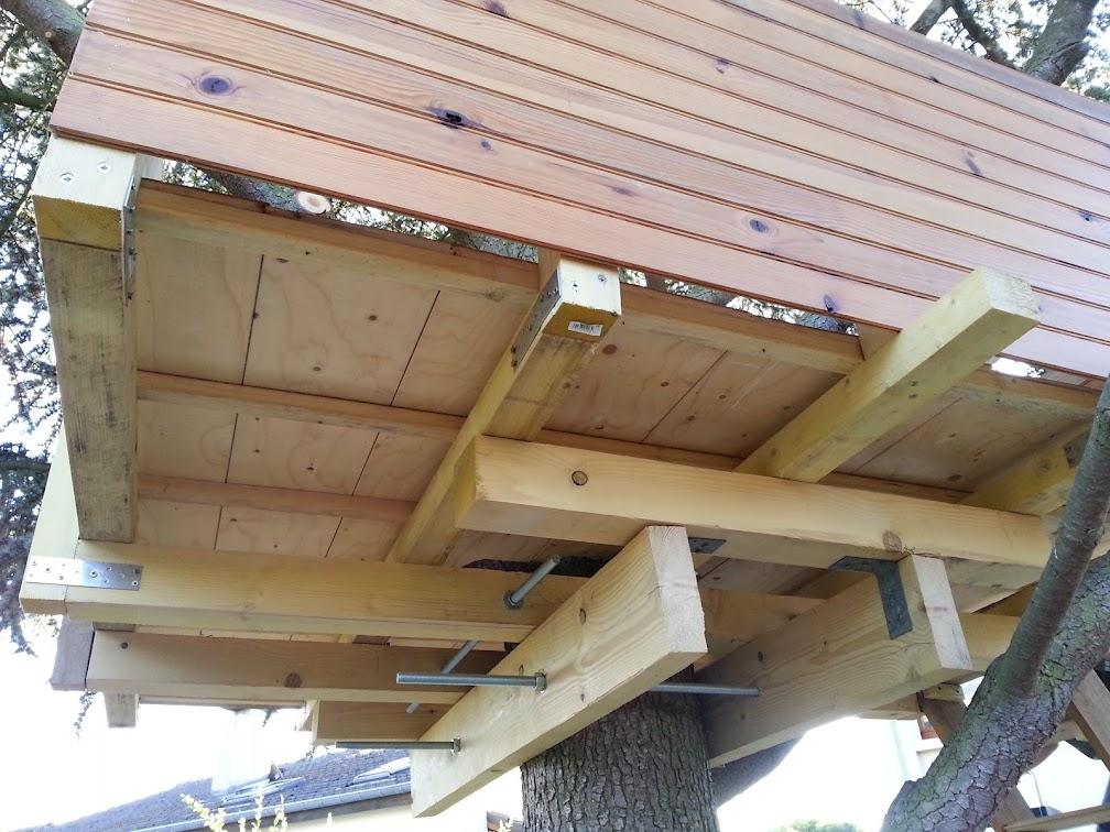 comment fabriquer une cabane dans les arbres simple comment fabriquer une cabane dans les. Black Bedroom Furniture Sets. Home Design Ideas